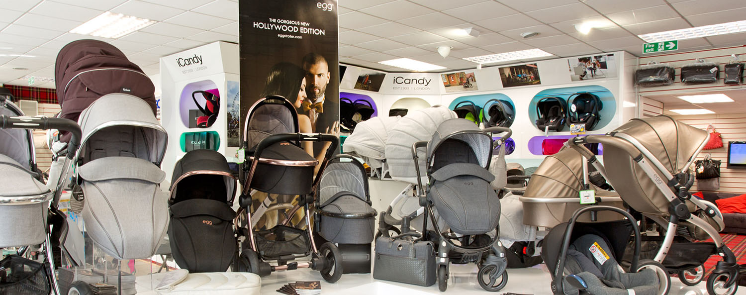 Slider Jan Stewart Pram & Nursery - Egg