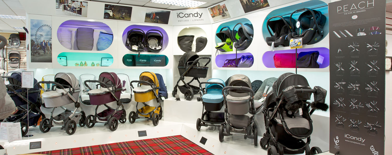 Slider Jan Stewart Pram & Nursery - iCandy