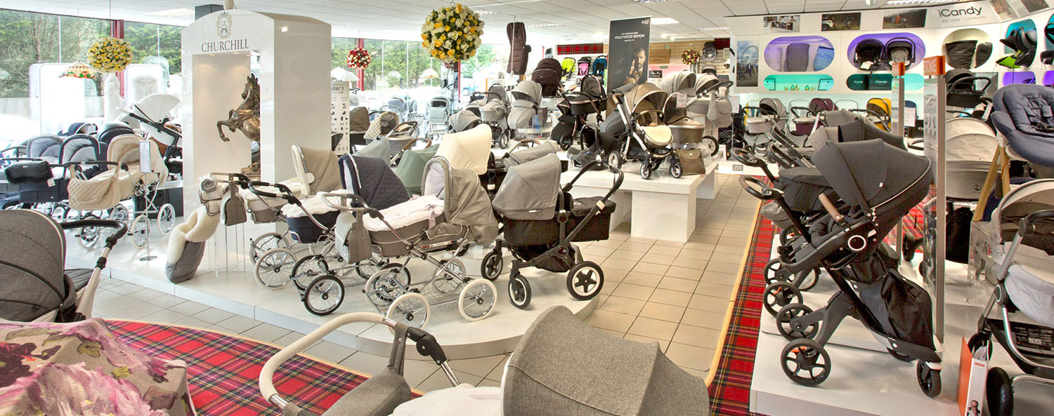 Slider Jan Stewart Pram & Nursery Inside Store