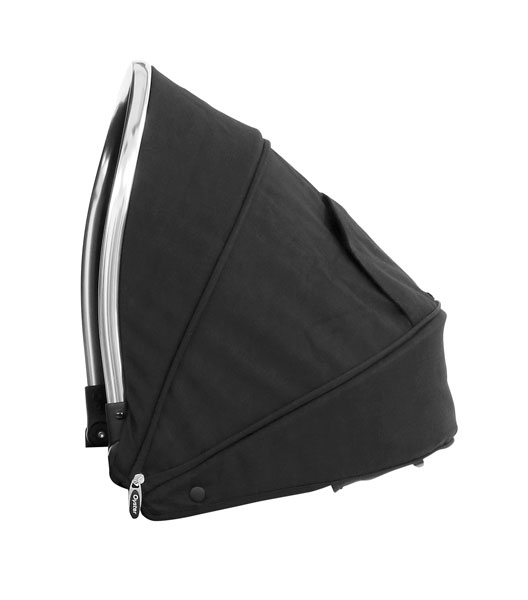 Oyster Max Tandem Lie Flat Seat Unit Hood Ink Black