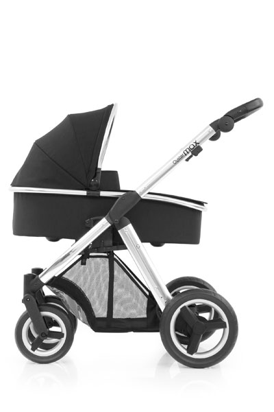 Oyster Max Carrycot Mirror Chassis Ink Black