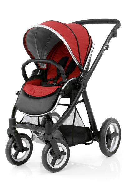Oyster Max Seat Unit Black Chassis Tango Red