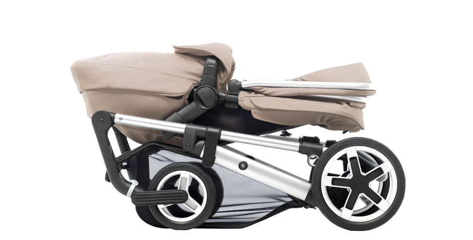 Pioneer 2016 Chrome Sand Chassis Folded