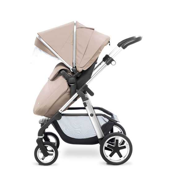 Pioneer 2016 Chrome Sand FW Pushchair