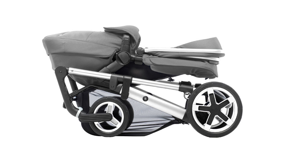 Pioneer 2016 Chrome Silver Chassis Folded
