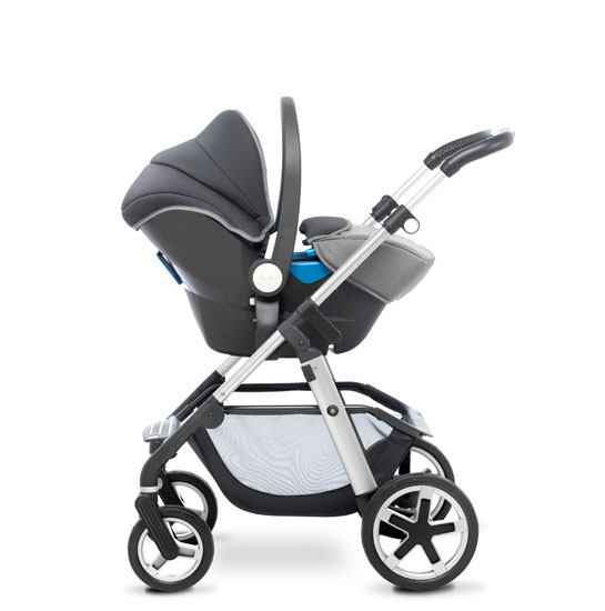 Pioneer 2016 Chrome Silver Travel System