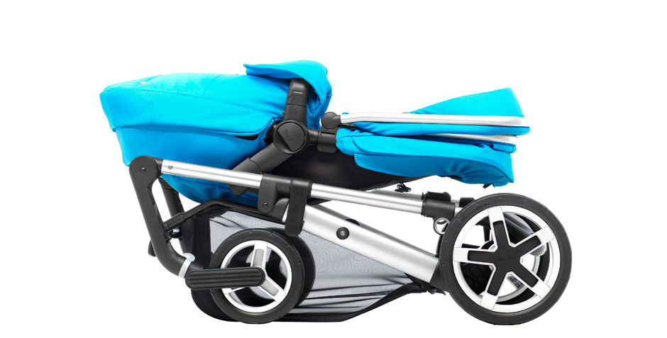 Pioneer 2016 ChromeSky Blue Chassis Folded