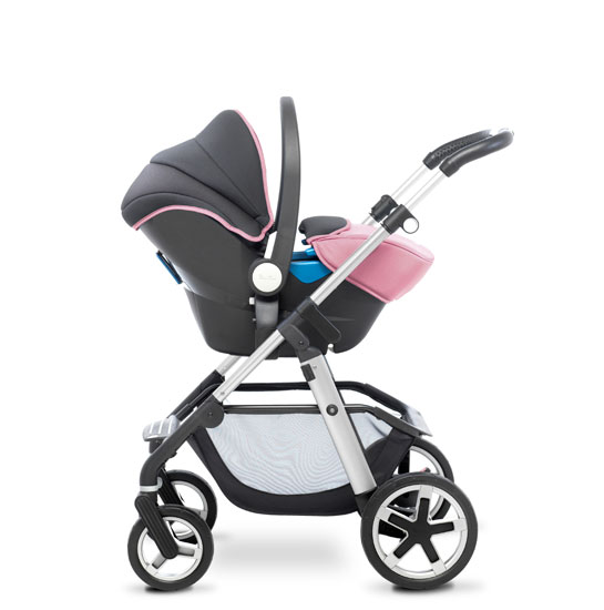 Pioneer 2016 Chrome Vintage Pink Travel System
