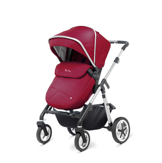 Pioneer 2016 Chrome Vintage Red FWD Pushchair