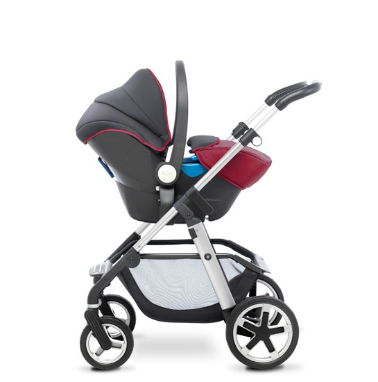 Pioneer 2016 Chrome Vintage Red Travel System