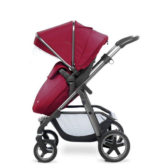 Pioneer 2016 Graphite FW Pushchair Vintage Red
